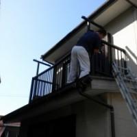 屋根置き式バルコニーの取り換え