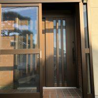 玄関ドアから玄関引き戸への取替え