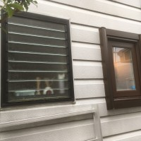 寒いジャロジー窓をマドリモで樹脂窓にリフォーム