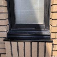 RC住宅の窓の下からの雨漏れが。特注のアルミ水切りで対応しました