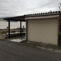 Gテラスを使って車庫の増幅